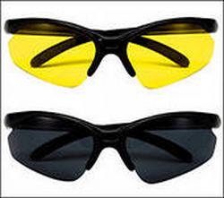 Цвет линз в очках для занятий спортом